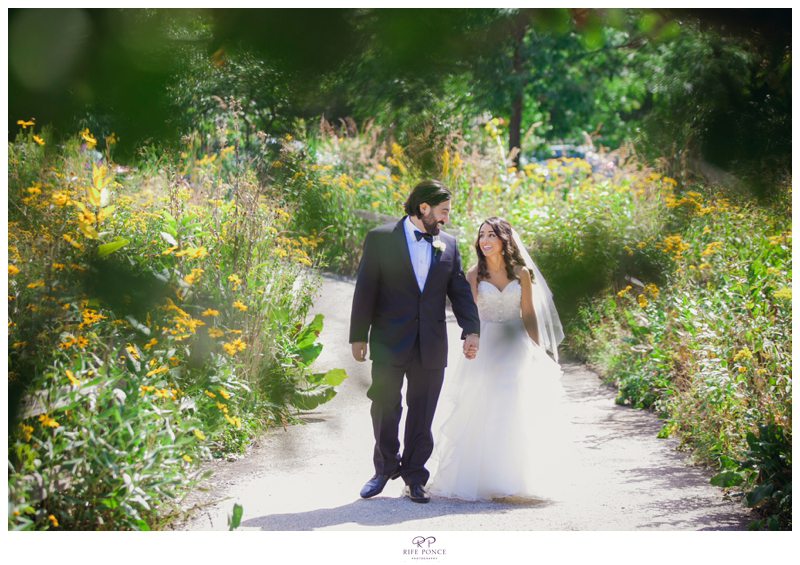 Golli and Omid's  Wedding Photos at the Peggy Notebaert Nature Museum