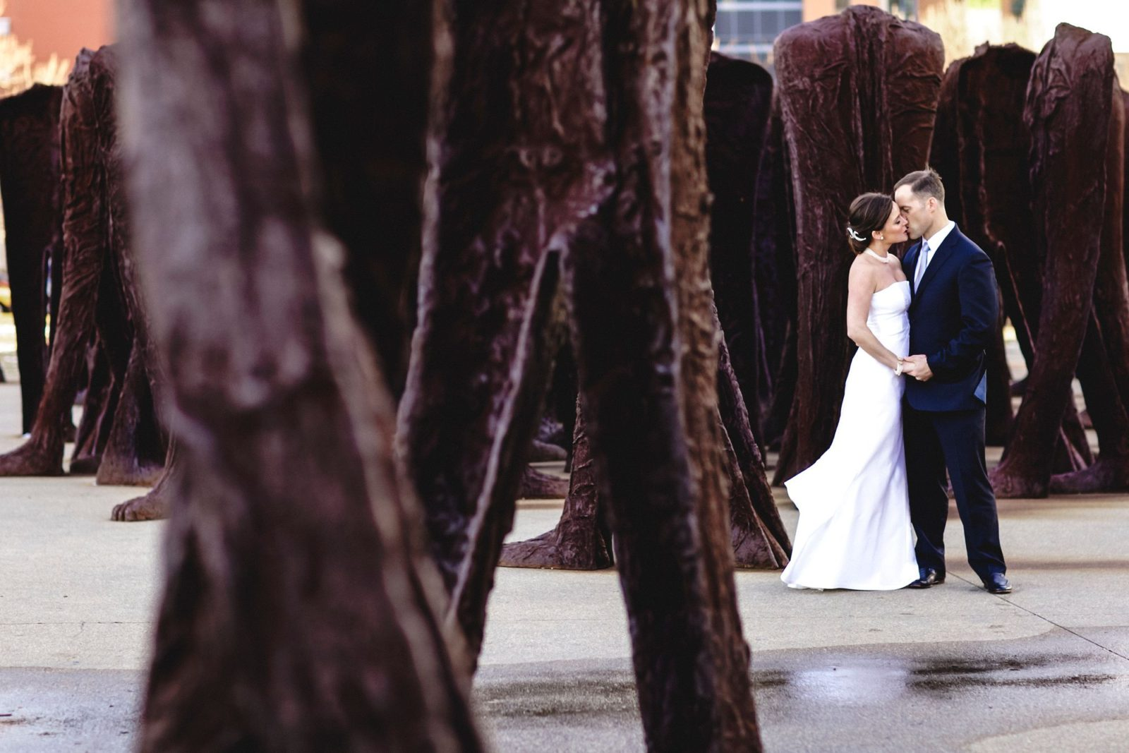 Kiss - Wedding Photography by Maggie Rife Ponce.