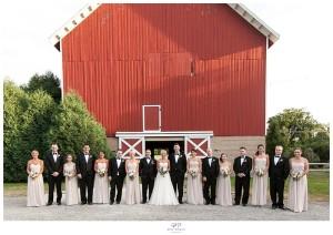 Lauren + Matt's // Dunham Wood's Riding Club Wedding Photos