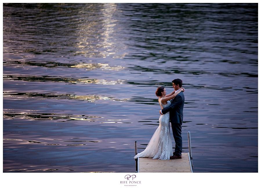 Malee and Dane's Intimate Backyard Wedding