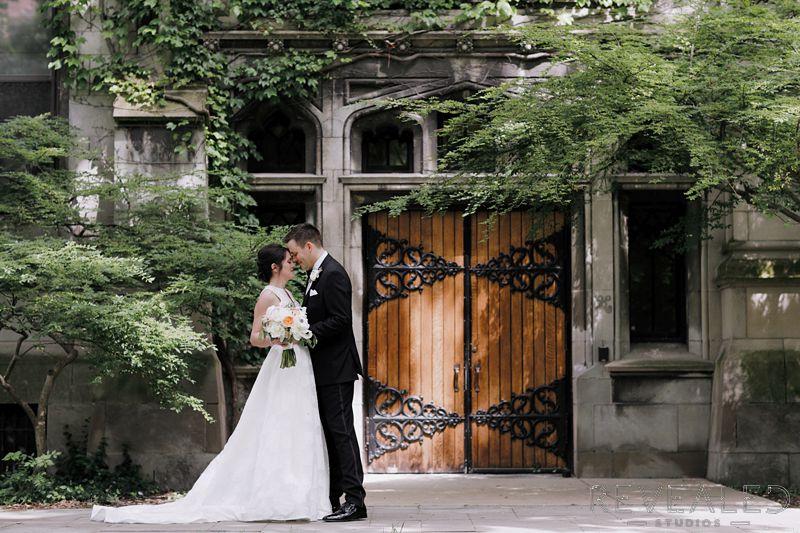Akiko and David's wedding at The Quadrangle Club