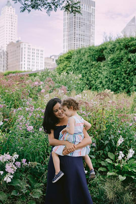 lurie gardens family photos