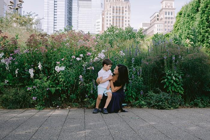 lurie gardens family photos