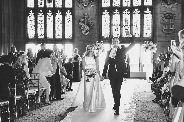 university club wedding photos